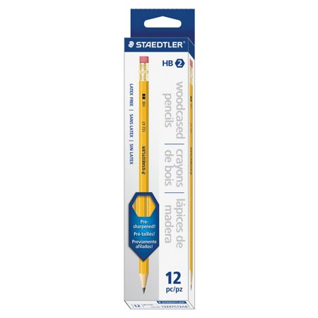 Staedtler Pre-sharpened No. 2 Pencils 13247C12A6