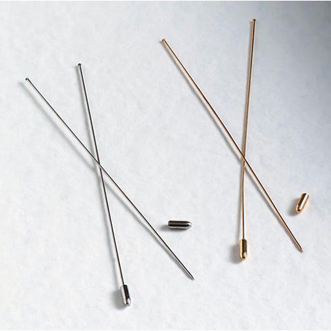Darice Hat Pins - Nickel - 6 inch - 12 pieces
