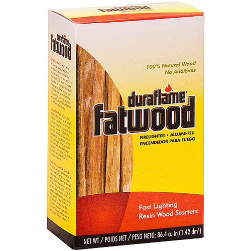 Duraflame Fatwood 86.4 cu in Wood Firelighters, 12 Boxes