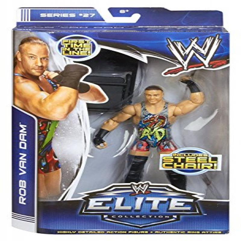 WWE Elite Collection Series #27 Rob Van Dam Action Figure by Mattel by