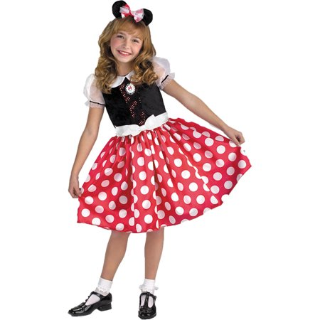Morris Costumes Girls Minnie Mouse 7-8, Style DG5036K