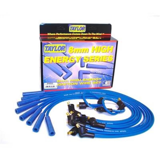 TAYLOR CABLE 64652 8 mm.  Blue Spark Plug Wire Set