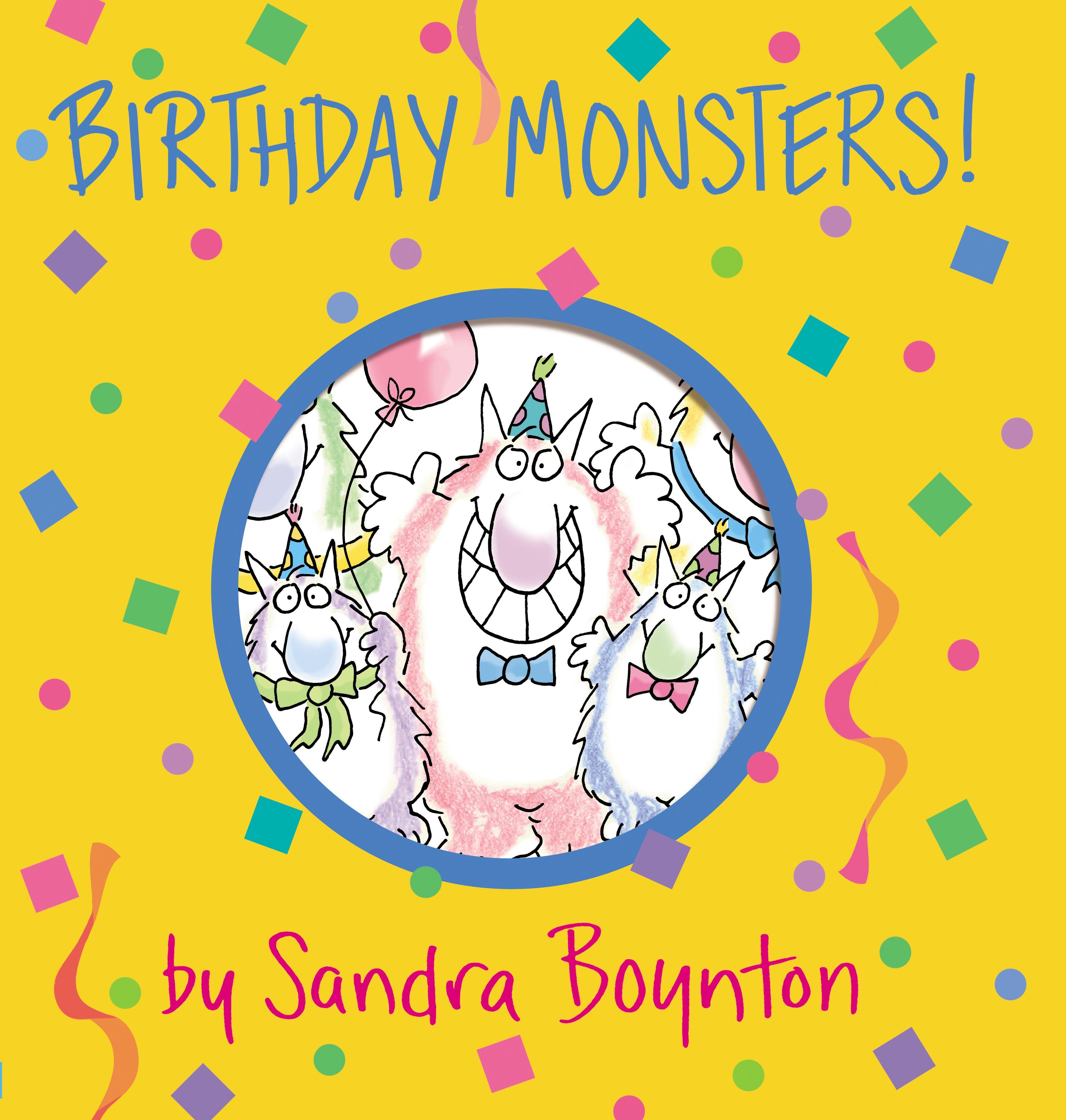 Boynton on Board: Birthday Monsters! (Board Book) by Workman Pub Co