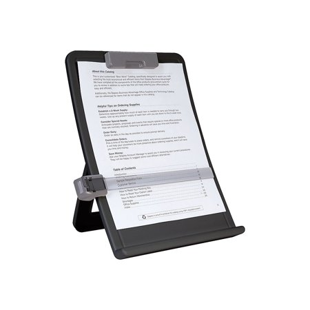 Staples 35078-CC Curved Desktop Copyholder 618852