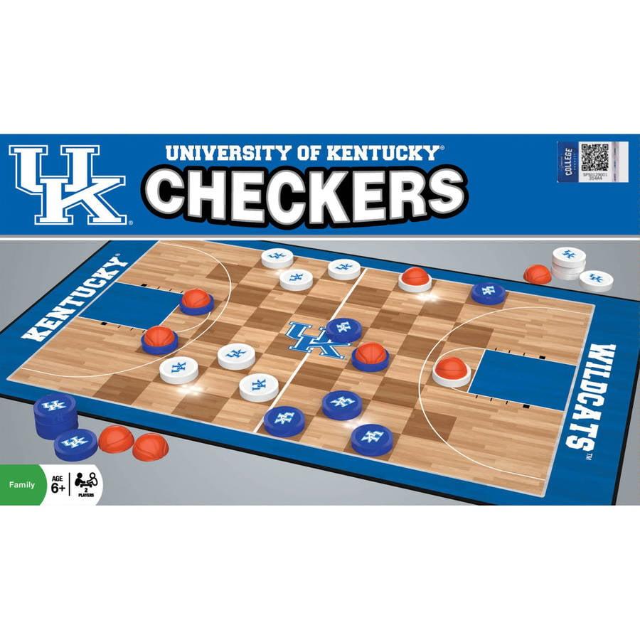 NCAA Kentucky Wildcats Team Checkers