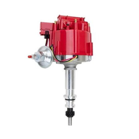 A-TEAM 64 65 66 67 68 FORD MUSTANG STRAIGHT 6 CYL 170 200 HEI DISTRIBUTOR Red 64 65 66 Mustang Convertible