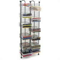 "Atlantic 33"" 100-CD Media Storage Rack Tower"
