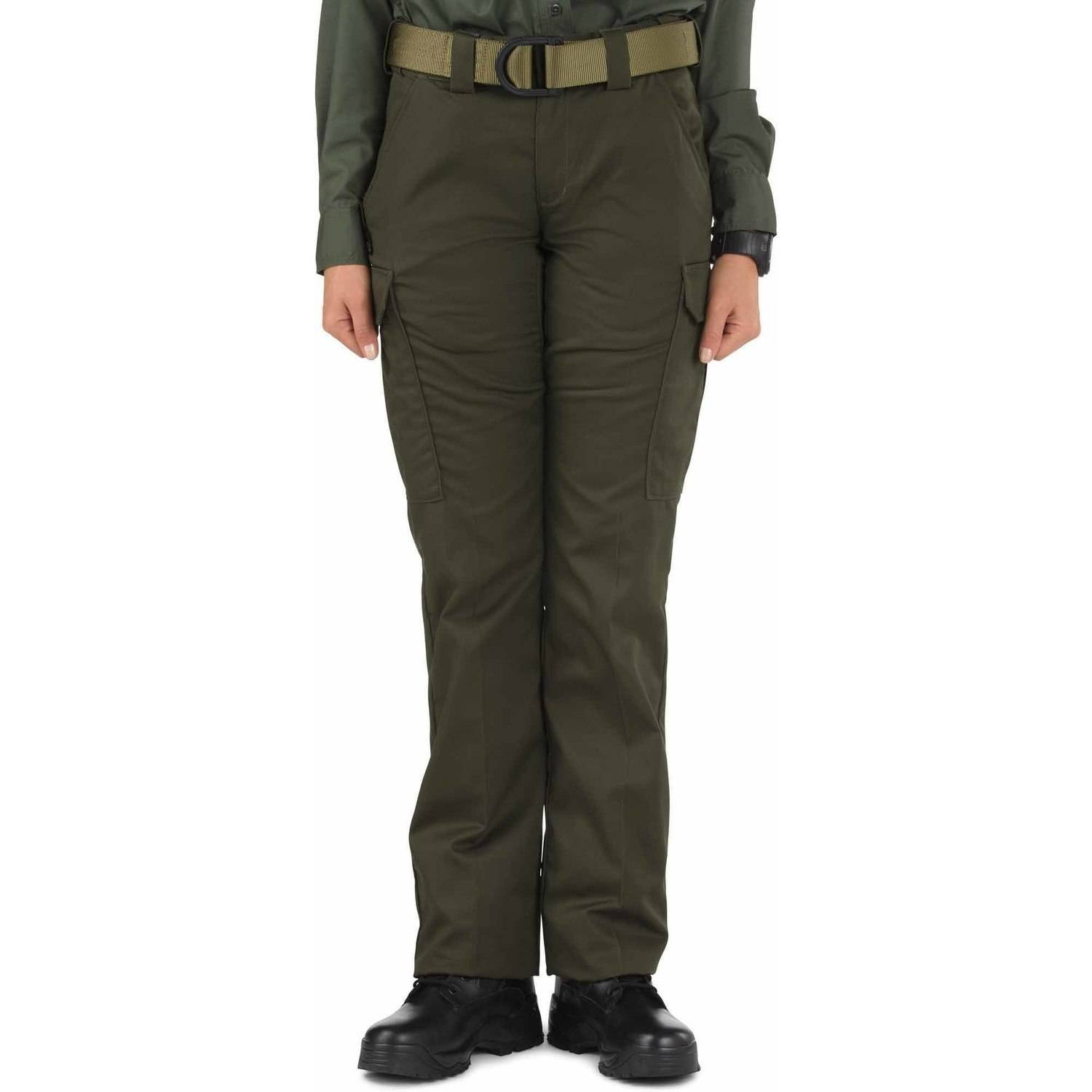 5.11 Tactical Women's Twill PDU Class-B Pants, Sheriff Green