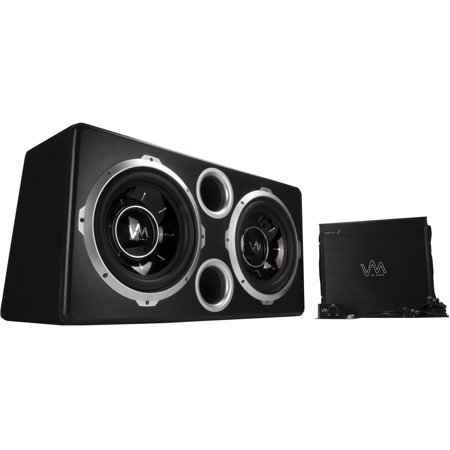 Miraculous Vm Audio Dual 12 Vented Port 2000 Watt Sub Car Box Bass Package W Wiring 101 Cominwise Assnl