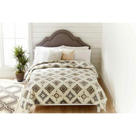 Better Homes & Gardens Velvet Plush King Tan Blanket, 1 Each ()