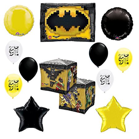 Lego Batman Party Supplies Movie Birthday Party Balloon Decoration - Lego Batman Birthday Party Supplies