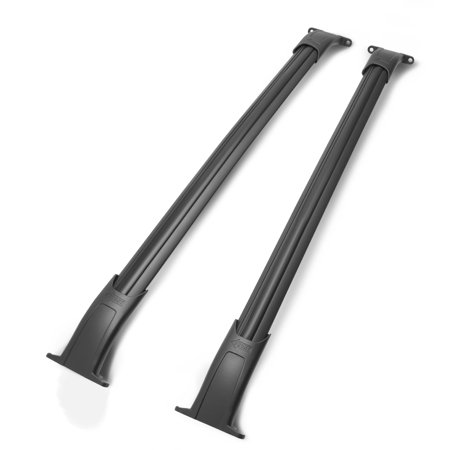 For 2015 to 2018 Cadillac Escalade ESV / Chevy Tahoe / GMC Yukon XL Pair OE Style Aluminum Roof Rail Cross Bar