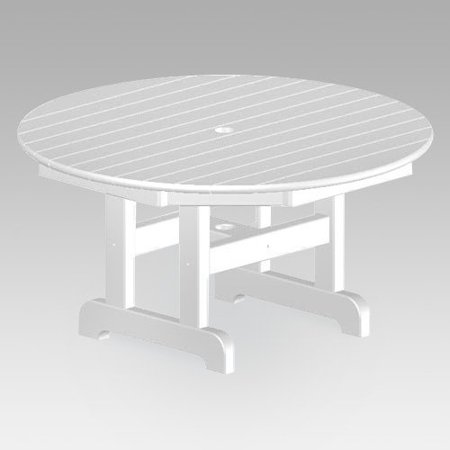 Polywood 174 Recycled Plastic Round Outdoor Coffee Table