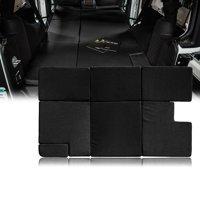 Xprite Black NitePad Premium Portable Sleeping Pad Cushion Fits Jeep Wrangler JKU 2007-2018 (4 Door Only)