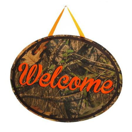 Evergreen Enterprises, Inc Mossy Oak Welcome Door Hanger ()