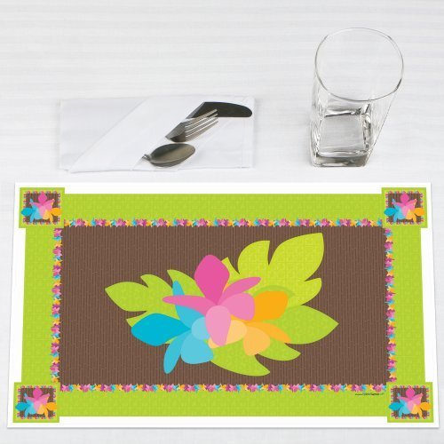Luau Party Placemats Set of 12 by Big Dot of Happiness, LLC