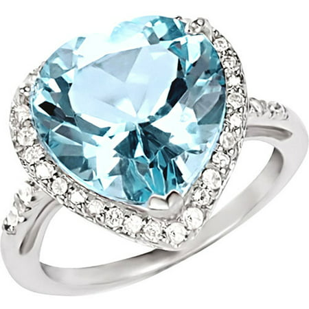 topaz jewelrypalace silver ring classic natural engagement sterling oval rings blue real item sky