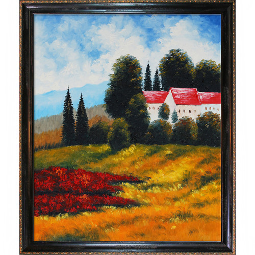 Wildon Home Private Villa I by Various Artists Framed Original Painting