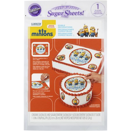 Wilton Cake Decorating Kit Coupon : Wilton Minions Edible Images Cake Decorating Kit, 710-4601 - Walmart.com