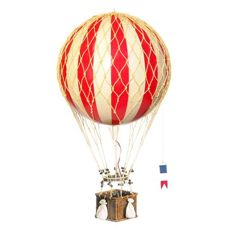 Royal Aero Balloon in True Red (Indoor Party Games For Adults Small Group)