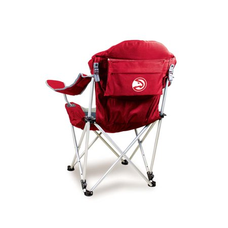 Atlanta Hawks Reclining Camp Chair (Red) by