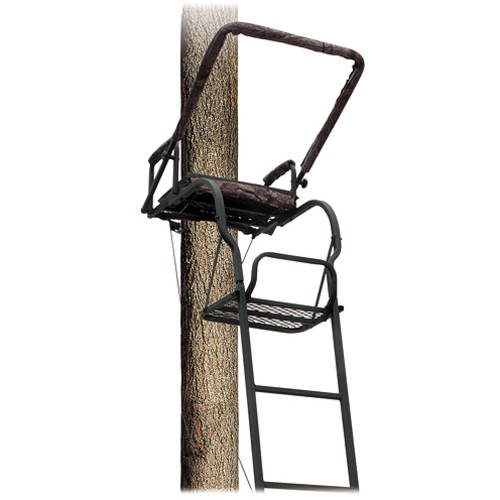 Big Dog Tree Stand Ladder Foxhound II Loaded thumbnail