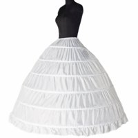 691f5ee37 Product Image Bridal Petticoats Slips Dress Petticoat Wedding Dress White  Underskirt Petticoats Crinoline Slips 6 Hoops by TMISHION