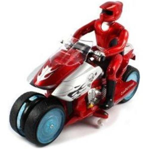 Microgear EC10410-Red Radio Controlled RC Drift Bike Electric RTR RC Motorcycle
