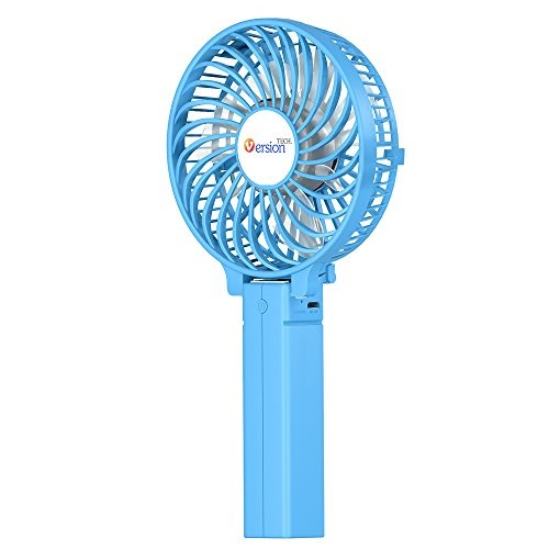 Rechargeable Portable USB Fan,Powered Cooling Fan Handheld Mini Fan,Ultra-Quiet for Office Room Outdoor Household Hiking