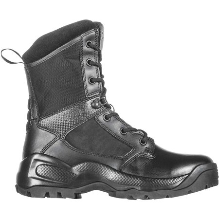 5.11 Tactical Women's A.T.A.C. 2.0 8-Inch Tactical Side Zip Military Combat Boot, Style 12403, Black, 7.5 Regular thumbnail
