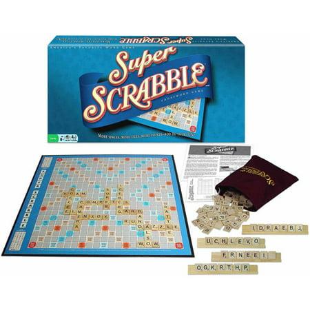 Super Scrabble Crossword Game