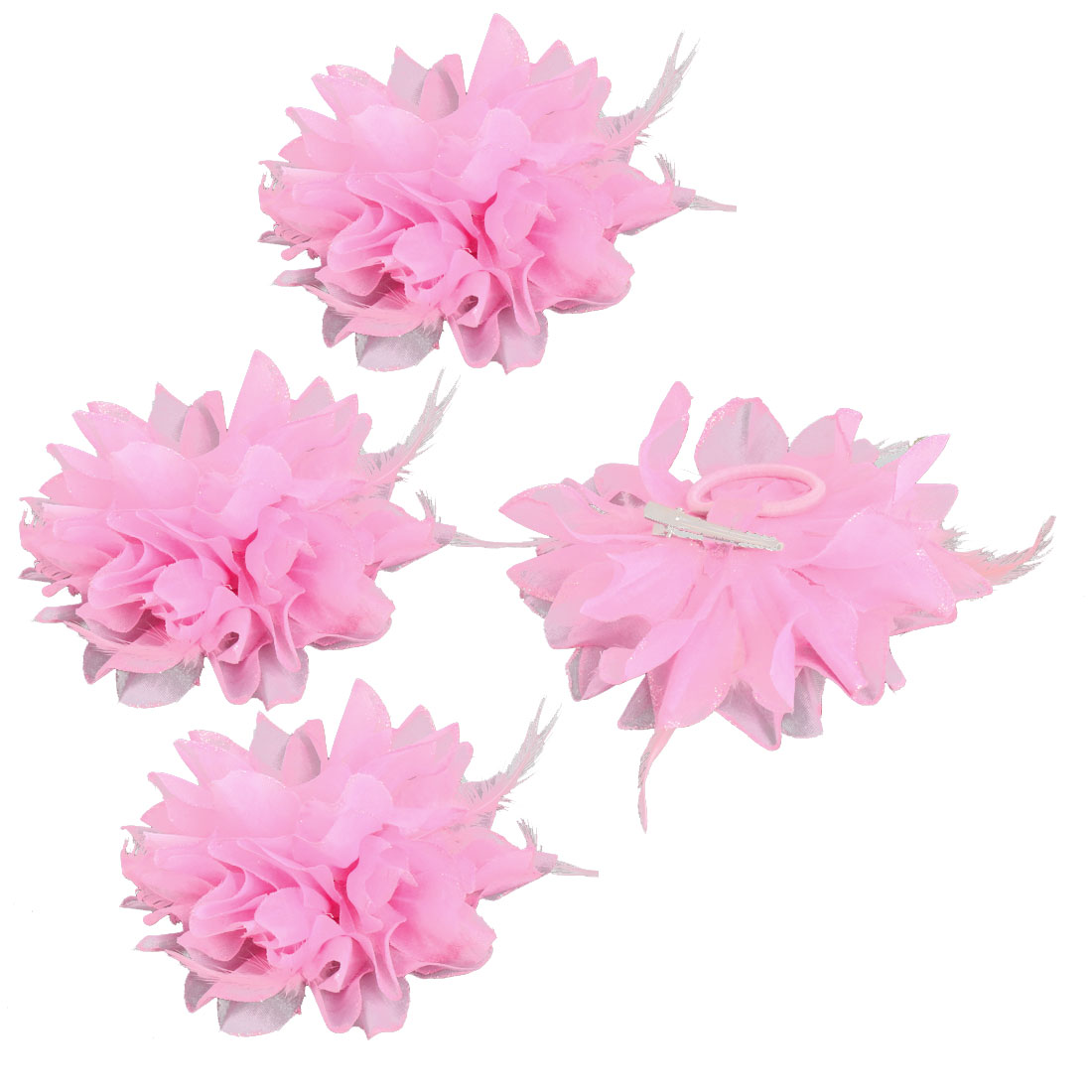 Wedding Fascinator Bridesmaid Hand Decoration Artificial Wrist ...