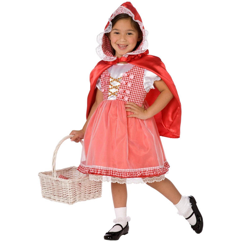 Red Riding Hood Toddler Halloween Costume, 3T-4T - Walmart.com