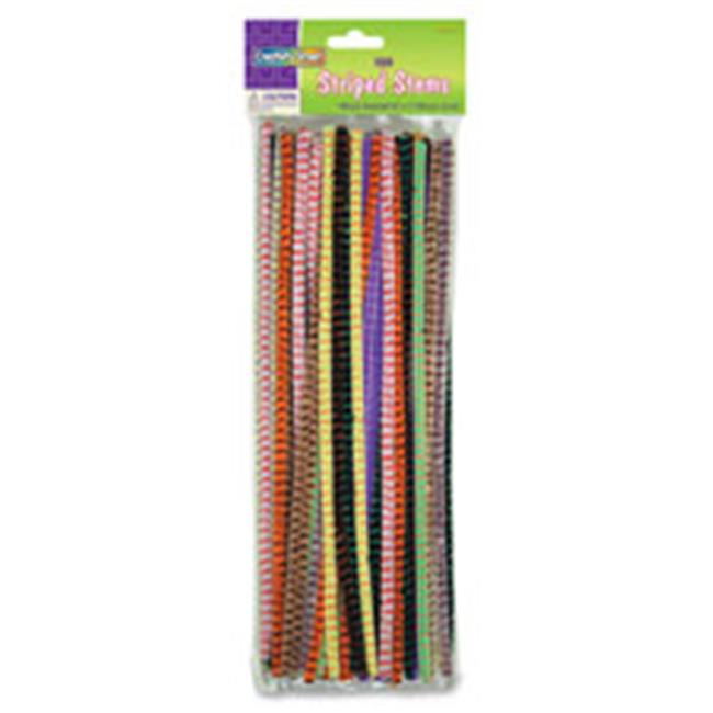 Chenille Kraft CKC716001 Jumbo Chenille Neon Pipe Cleaners, Assorted - 100 Per Pack