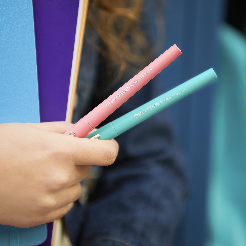 Medium Point 0.7 Assorted Colors Paper Mate Flair Felt Tip Pen 20 Piece Set