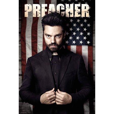 Gary Cooper Movie Poster - Preacher - TV Show Poster / Print (Dominic Cooper - Flag) (Size: 24