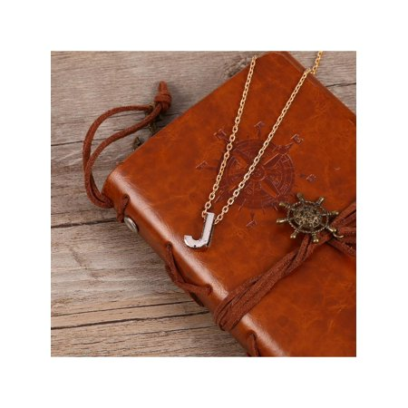 Fashion Personality Letter J Pendant Necklace Clavicle Chain Jewelry T2PC - image 4 of 8
