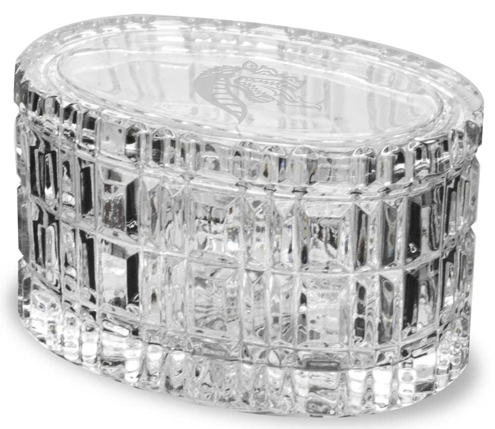 Alabama Birmingham Crystal 5 Inch Oval Table Box by