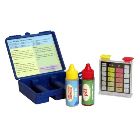 Swimming Pool Water Test Kit for Chlorine, Bromine and