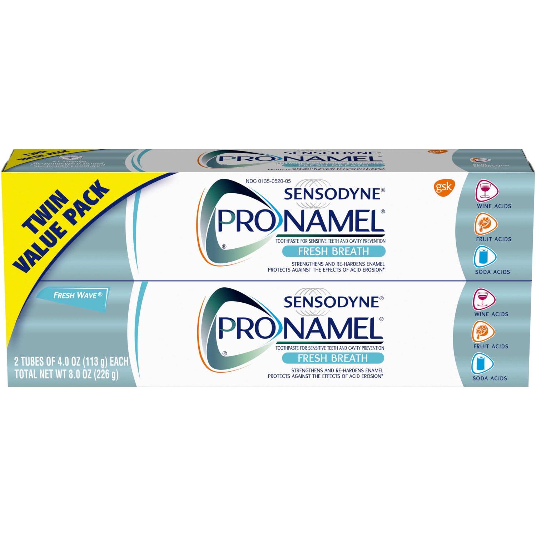 Sensodyne ProNamel Fresh Breath Toothpaste - 2ct/8oz