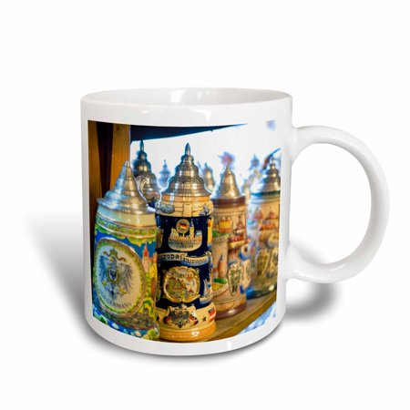 - 3dRose Germany Baden-Wurttemberg, Rothenberg, Beer Stein - EU10 JEN0308 - Jim Engelbrecht, Ceramic Mug, 11-ounce