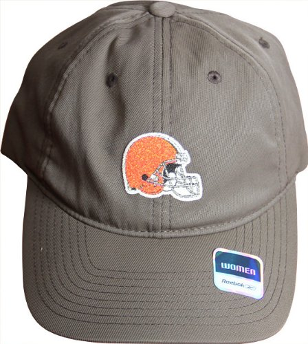 "NFL Reebok Cleveland Browns Ladies ""Sparkle Logo Series"" Hat Cap"
