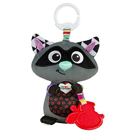Lamaze Clip & Go Raccoon, Baby Car Seat Toy