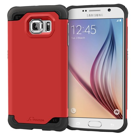 Galaxy S6 Case, roocase [Exec Tough] Galaxy S6 Slim Fit Case Hybrid PC / TPU [Corner Protection] Armor Cover Case for Samsung Galaxy S6 (2015)](mont blanc case galaxy s6)