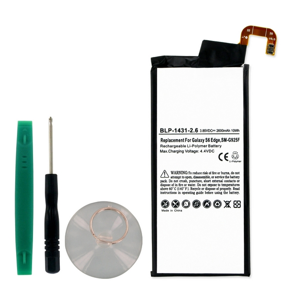 Samsung SM-G925A Cell Phone Battery (Li-Pol 3.8V 2600 mAh...