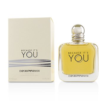Emporio Armani Because Its You Eau De Parfum Spray 51oz Walmartcom