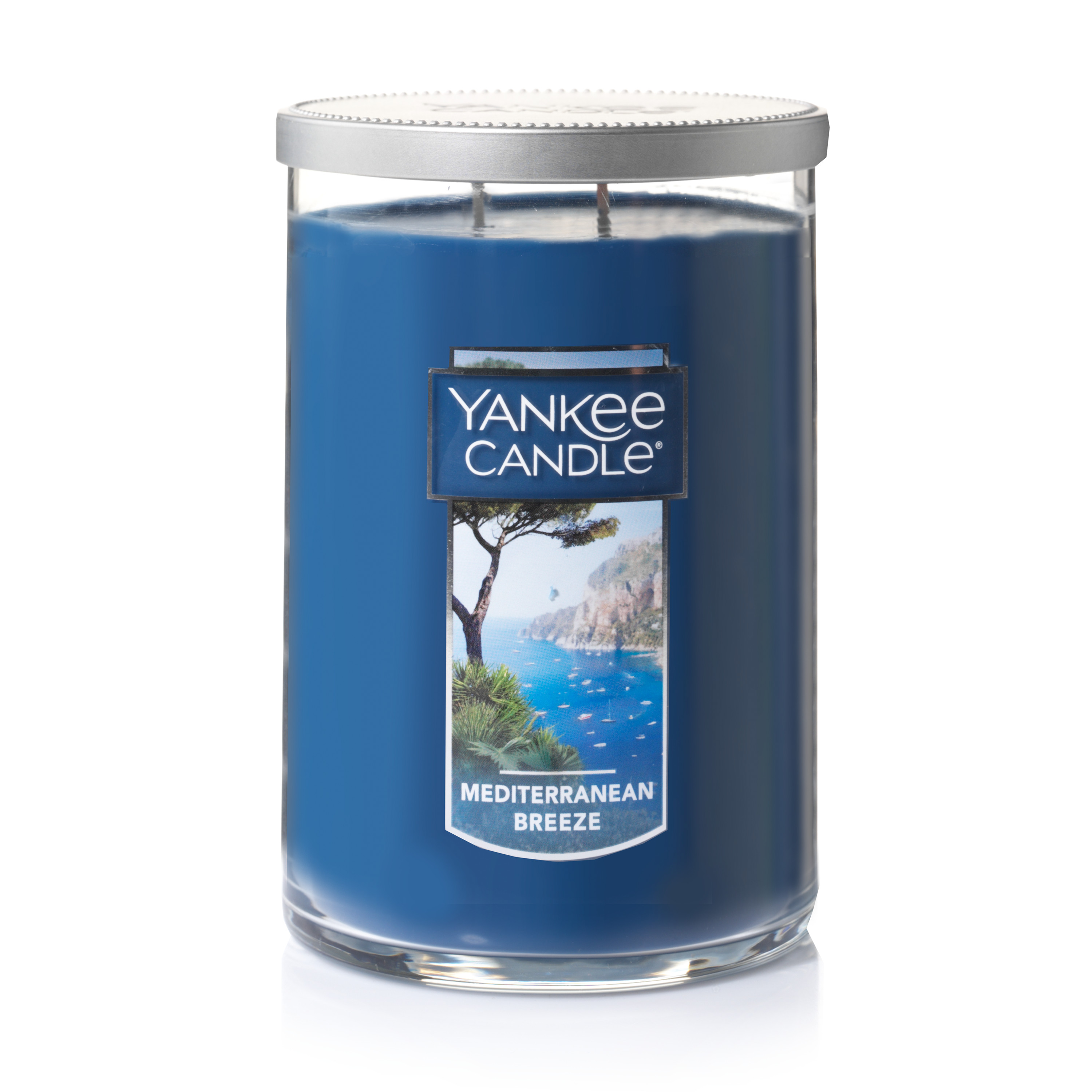 Yankee Candle Large 2-Wick Tumbler Scented Candle, Mediterranean Breeze