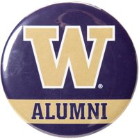 "Washington Huskies WinCraft Alumni 3"" Pastel Round Button - No Size"