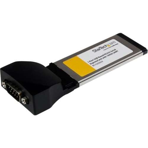 Startech USB-Based 1 Port ExpressCard to RS232 DB9 Serial Adapter Card
