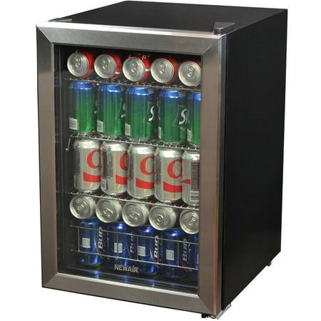 NewAir 84-Can Stainless Steel Beverage Refrigerator